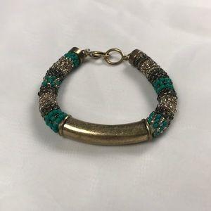 Lucky Brand Rope Beaded and Brad's Bracelet
